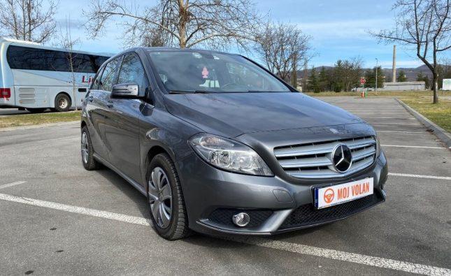 Test polovnog: Mercedes B 180 CDI W246 2013
